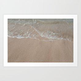 Seaside in Paia // Maui Art Print