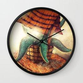 The Wormhole Wall Clock