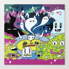 Spooky Spirits  Canvas Print