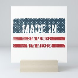 Made in San Miguel, New Mexico Mini Art Print