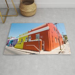 Colorful Bo-Kaap area of Cape Town Rug