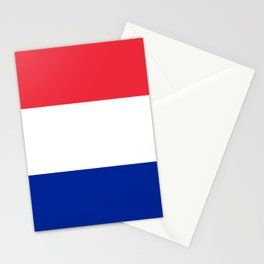 Flag of France, Authentic color & scale Stationery Cards