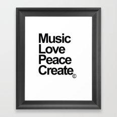 MLPC White Framed Art Print
