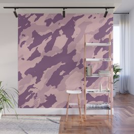 Colorful Marble Modern Light Rose Color Wall Mural