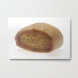 Baguette Bread Metal Print