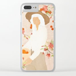 Summer Harvest Clear iPhone Case