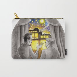 """Life is Infinitely Stranger"""" - Holmes and Watson - 221B  Carry-All Pouch"""