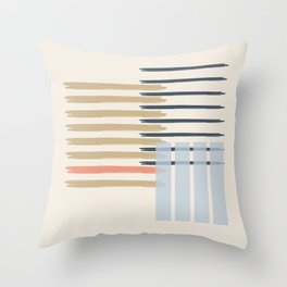 Almohadon Lineas Throw Pillow