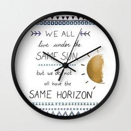 Same Sky V2 Wall Clock