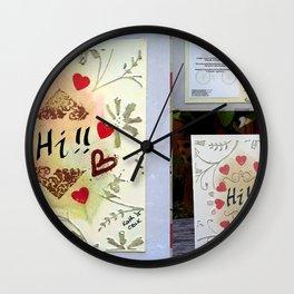 Sweet Life 2 Wall Clock