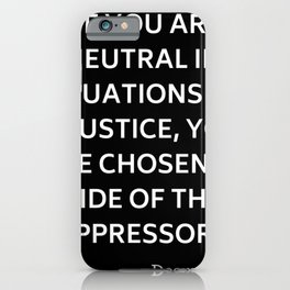 TUTU QUOTE iPhone Case