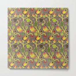 Predatory Flowers Metal Print