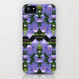 Purple flowers of Seattle iPhone Case