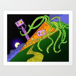 #91: House of Carrot Art Print