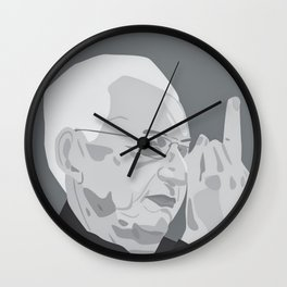 Frank Gehry (Pure Shit) Wall Clock