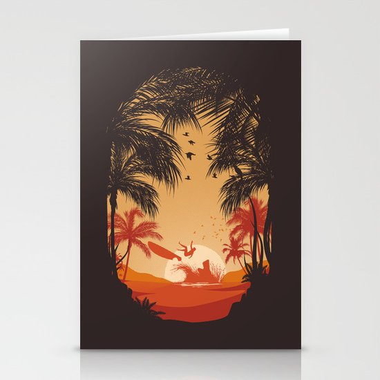 Summertime Madness Stationery Cards