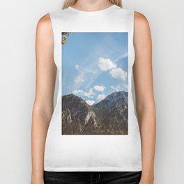 Mountains in the background XXIV Biker Tank