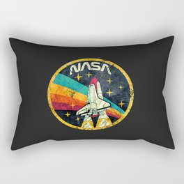 nasa logo Rectangular Pillow