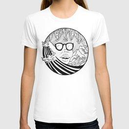 mountain wave T-shirt