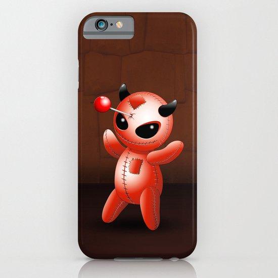 Voodoo Doll Evil Devil Cartoon iPhone & iPod Case