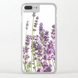 Purple Lavender #3 #decor #art #society6 Clear iPhone Case
