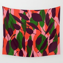 jungle leaf Wall Tapestry