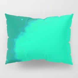 Splat on Teal - by Friztin Pillow Sham