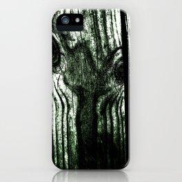 Freak in a tree iPhone Case
