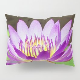 Water Lily Magic Pillow Sham