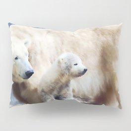 Polar Family Pillow Sham