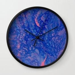 deep waters | fluid acrylics Wall Clock