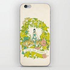 Vive Les Femmes iPhone & iPod Skin