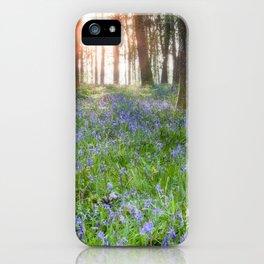 Bluebell Sunrise iPhone Case