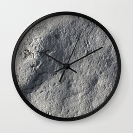 Rock Face Style Wall Clock