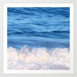 Ocean Froth Art Print