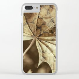 being and time Clear iPhone Case