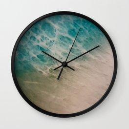Ocean Shoreline2 Wall Clock