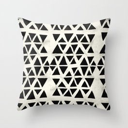 Tribal Geometric Throw Pillow