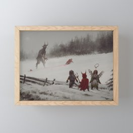 no gifts this year Framed Mini Art Print
