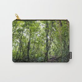 Hiking through the Rainforest on the side of the Mombacho Volcano in Nicaragua Carry-All Pouch