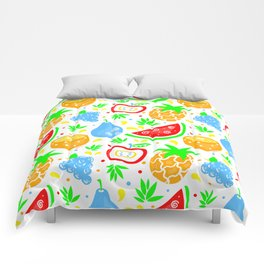 Fiesta de las Frutas Comforters