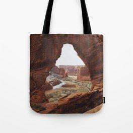 Window Rock Tote Bag