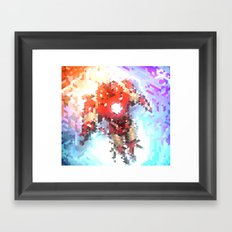 Arc Reacting Framed Art Print
