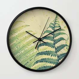 Shady Dancer Wall Clock