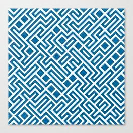10 Print: Bold Blue Canvas Print