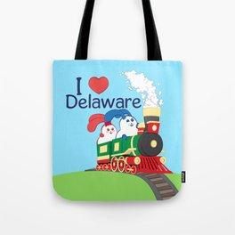 Ernest and Coraline | I love Delaware Tote Bag