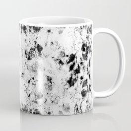 Soft rock // abstract black-and-white Coffee Mug