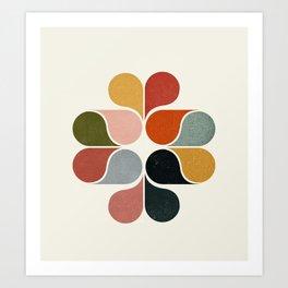 Abstract modern art Art Print