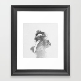 The imaginary parts of my mind. Framed Art Print
