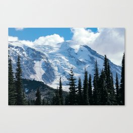 Mount Adams Glacier Canvas Print